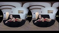 This Babe Can't Stop Pissing In VR!