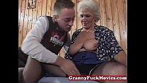 Grandma eager for younger dicks