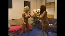 Blonde Brunette Catfight 2/3 pornhub video