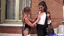 Tiffany Leiddi Accompagne Mélissa Pour Un Gangb
