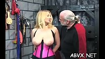 Extreme thraldom video with cutie obeying the dirty play's Thumb