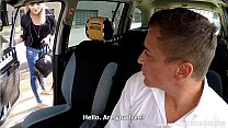 Unbelievable Reality - Strangers Voyeurs Watching Czech TAXI car in action thumbnail