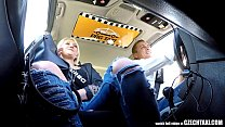 8104 Unbelievable Reality - Strangers Voyeurs Watching Czech TAXI car in action preview