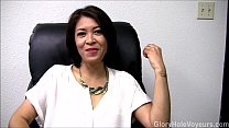 Screenshot Asian Milf Gloryhole Interview Blowjob