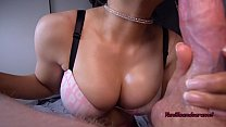 Amateur MILF Drips Oil And Spit All Over Her Big Tits - Vanillaandcaramel صورة