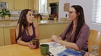 Free download video bokep Tutoring turns into lesbian sex - Dana DeArmond and Reena Sky