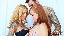 Penny Pax Gets Tricked To Fuck Sarah Jessie And Her BF! - 9Club.Top