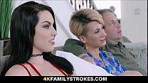 TEEN STEP DAUGHTER FUCKS STEP DAD ON LIVE - 4KF...
