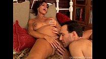 Pregnant mature pornstar Nancy Vee is a hot fuck preview image