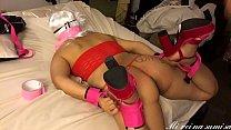 Sub hot wife tied up PART 3 mi sumisa y esclava esposa amarrada parte 3