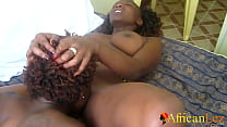 Nigerian Lesbians Shower and Oral Orgasm On WhatsApp Video preview image