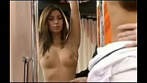 Leilani Dowding breast exam