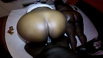 MONSTER BOOTY BBW THREESOME SLOPPY HEAD AND BAC