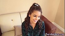 Latin teen amateur jizzed Thumbnail