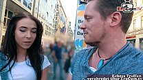 EroCom Date - german casting agent public pick up young latina teen tourist in berlin