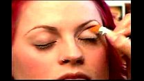 Make Up Tips for a Christina Aguilera Look - Adding Eye Base Makeup for a Christina Aguile pornhub video