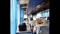 indian horny boy dare to do masturbation in bus first time dare