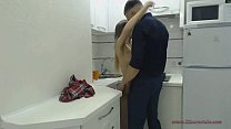 bestfriend fuck my girlfriend in kitchen  (for more visit www.x2camstube.com) thumbnail