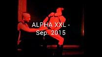 Fostter Riviera with Josh Mezza on sex Live Show in Antwerp, Belgium,Alpha Party