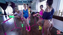 GIRLS GONE WILD - We Interrupt Melody Parker and Claire Black's Ballet Class video
