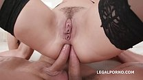 Charlotte Cross first time Double Anal with Balls Deep Anal Great Gapes and Facial