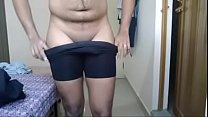 Indian Boy removing clothes