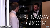 Cliff Jensen and Damien Kyle - Runaway Groom - Str8 to Gay - Trailer preview - Men.com