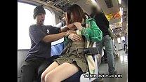 Japanese Public Asian Sex in the Train Vorschaubild