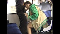 Japanese Public Asian Sex in the Train - Bigwet but thumbnail