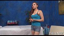 Sex massage clip scene