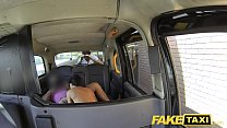 Fake Taxi John makes guys gf squirt and cums on her face Image