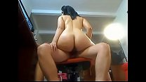 Big Ass Latina loves to ride that cock! www.xxx...