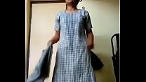 My college girl leaked mms video
