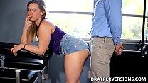 no bra in public - Maria Jade Assjob Cock Tease thumbnail