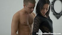 I Fucked Her Finally - Vikki sexy brunette thumbnail