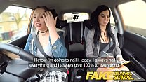 Fake Driving School Daddys girl fails her test with strict busty mature examiner thumbnail