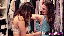 Melissa Moore and Riley Reid prom night excapade - 9Club.Top