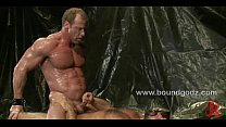 Derek Pain falls in a trap and gets fucked pornhub video