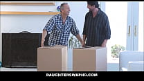 Two Dad's Swap Fuck Daughters thumbnail