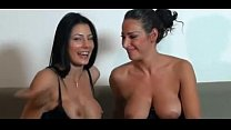 WebcamPornLive.com - Hot Italian Lesbians Squir...
