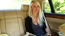 MyFirstPublic Girl leans out car window to suck... - download porn videos