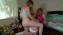 Lesbian Ass Humping