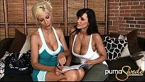 Big Titted Puma Swede & Lisa Ann's First Time! - 9Club.Top
