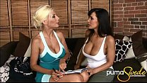 Image: Big Titted Puma Swede & Lisa Ann's First Time!