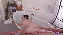 TmwVRnet.com - Arwen Gold - Wet Brunette Enjoys... Thumbnail