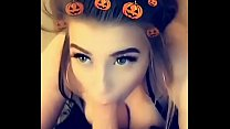Amelia Skye gets big facial and then cheats on boyfriend in a car on Snapchat - 9Club.Top