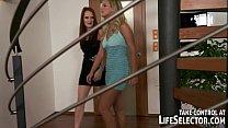 Lesbian babes having fun