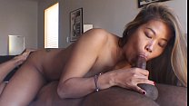 Asian Interracial Filipina pornstar gives thick...