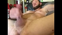 Hot guy playing with his big cock