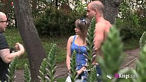 Being famous is great: Antonio finds and fucks a blonde MILF right in the park thumbnail